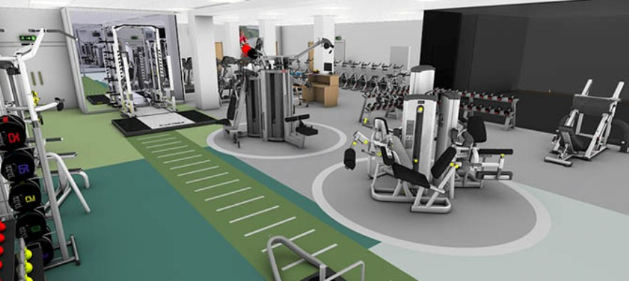 Best Commercial Gym Design Ideas Contemporary - Decorating ...